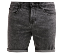Jeans Shorts black moonwash