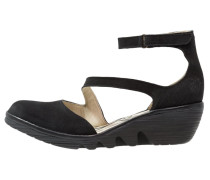 PLAN Keilpumps black