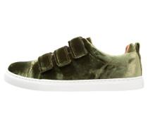 AITH VELVET 3 STRAP - Sneaker low - khaki