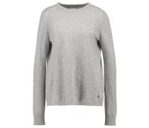 THILDA - Strickpullover - light grey melange