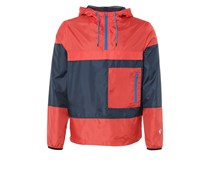 Windbreaker light red/dark blue