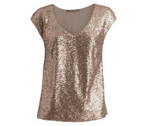 Bluse goldcolored
