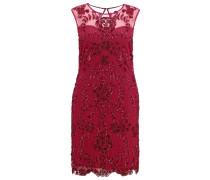 SAMANTHA Cocktailkleid / festliches Kleid berry red