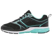 Sneaker low black/light blue