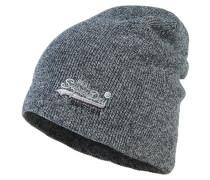 Mütze coal grey twist
