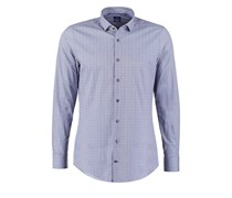 PURI SLIM FIT Hemd blau