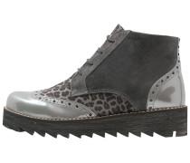 Schnürstiefelette grey