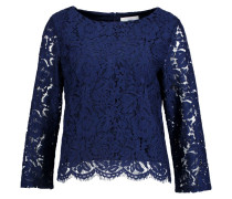 THANJA Bluse twillight blue