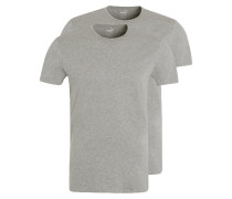 2 PACK Unterhemd / Shirt middle grey melange
