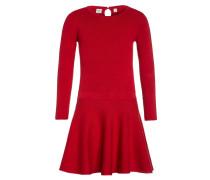 Strickkleid modern red