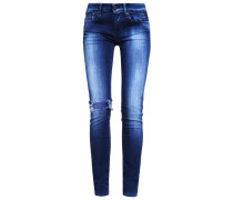 LUZ Jeans Slim Fit tinted blue