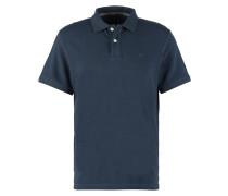 REGULAR FIT Poloshirt rock oil blue melange