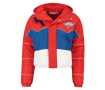 ISLE OF WIGHT Winterjacke red/blue/white