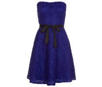 Cocktailkleid / festliches Kleid bleu de chine