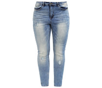 JRFIVE TEA Jeans Slim Fit medium blue denim