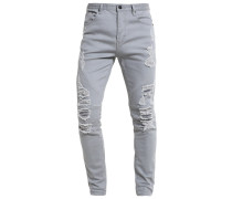 Jeans Tapered Fit cool grey