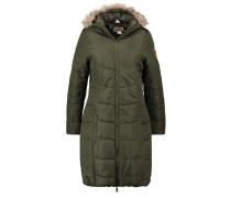 FEARNE II Wintermantel dark khaki