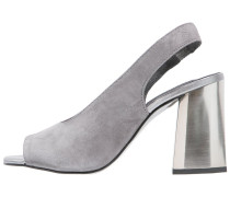 High Heel Sandaletten grey