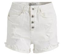 NEPHELE - Jeans Shorts - offwhite