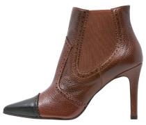 RUDDY High Heel Stiefelette brown