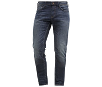 Jeans Slim Fit dark stone wash denim