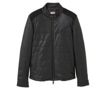 ICE Kunstlederjacke black