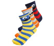 3 PACK Socken blue