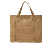 HEY Shopping Bag bone brown