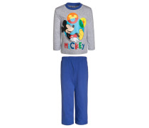 MICKEY Pyjama lollipop/light gray melange
