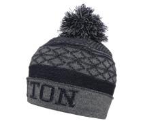 Mütze dunkelblau/grau