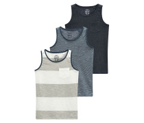 3 PACK Top grey