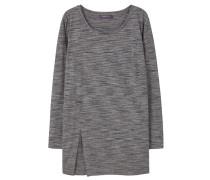 MENOS Langarmshirt dark heather grey