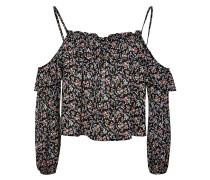 PINS & NEEDLES FLORAL - Bluse - black multi