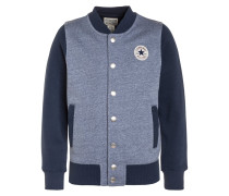 Sweatjacke - navy/white marl