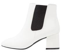 AQUA Ankle Boot white