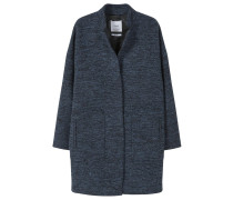 QUO Wollmantel / klassischer Mantel indigo blue