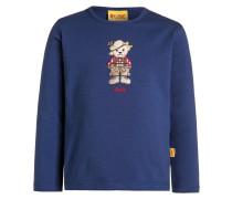 Langarmshirt twilight blue/blue