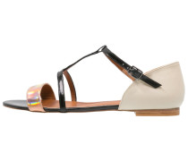 KEIRA Riemensandalette peach/black/cream