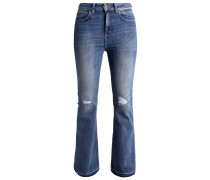 GWENA - Flared Jeans - olden wash