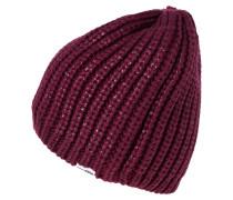 Mütze deep bordeaux metallic