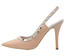 VALVER High Heel Pumps charcol/nude