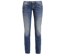 PIPER - Jeans Straight Leg - blue denim