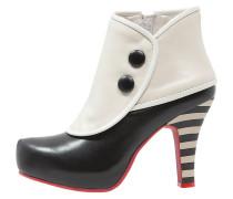 ANGIE High Heel Stiefelette black/cream