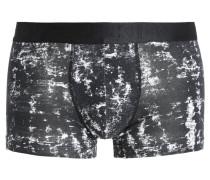 Panties black waterprint