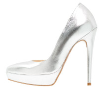 High Heel Pumps argento
