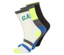 3 PACK Socken elysian blue