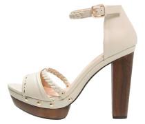 FLEUR High Heel Sandaletten white