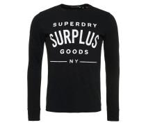 SURPLUS GOODS Langarmshirt jet black