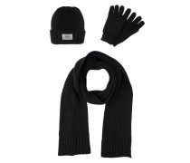 SET Schal black
