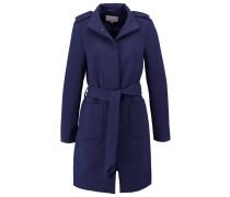 Wollmantel / klassischer Mantel navy blazer